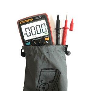 Image 5 - RM109 Digital Multimeter 9999 zählt Mini Auto Range True RMS Platz Welle AC DC Spannung Amperemeter Strom Ohm Auto manuelle