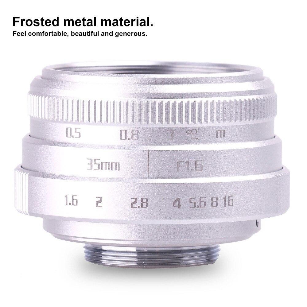 new arrive fujian 35mm f1.6 C mount camera CCTV Lens II for