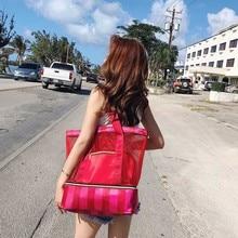 34*15,5*40 см, женская сумка для плавания, сетчатые сумки, сумки, сумки для влажных и сухих купальников, Сетчатая Сумка для путешествий, бассейна, пляжа, Коллекция сумок