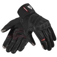 2018 REVIT Dirt 2 Man Motorcycle Gloves Leather/Fabric Touring Black Leather Gloves