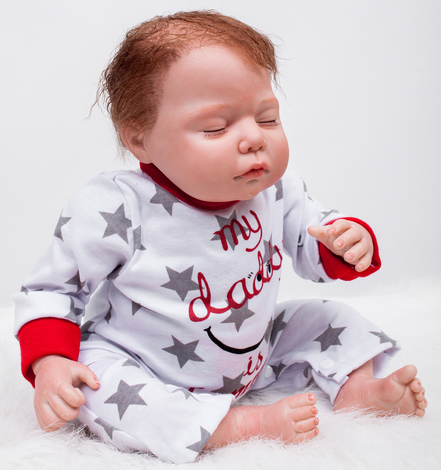 Children 22 Early Factory Supply New Soft Vinyl reborn baby dolls Silicone Toy Gift New Education  boy baby Doll 55cm free shipping one pair viborg krell schuko version 24k gold plated audio power plug for audio power wire