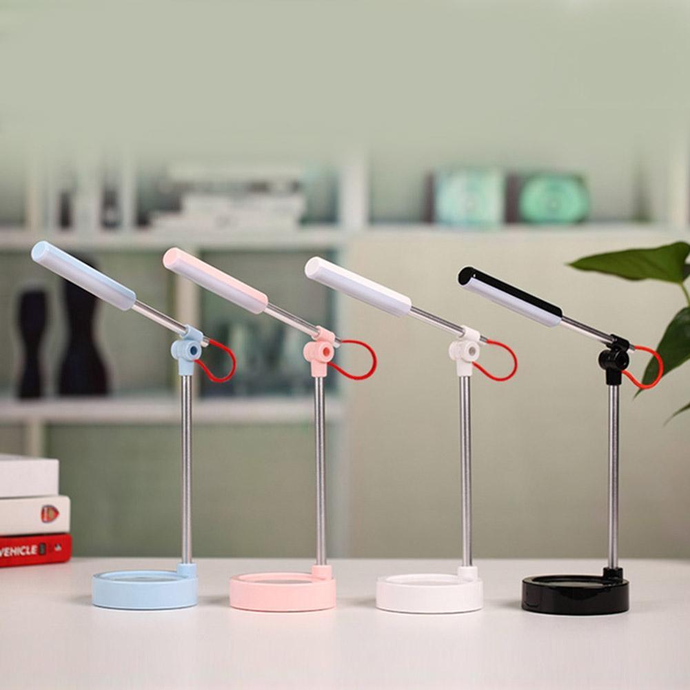 LumiParty LED Eye Protection Lamp USB Charging Desk Lamp Folding Learning Reading Desktop Light