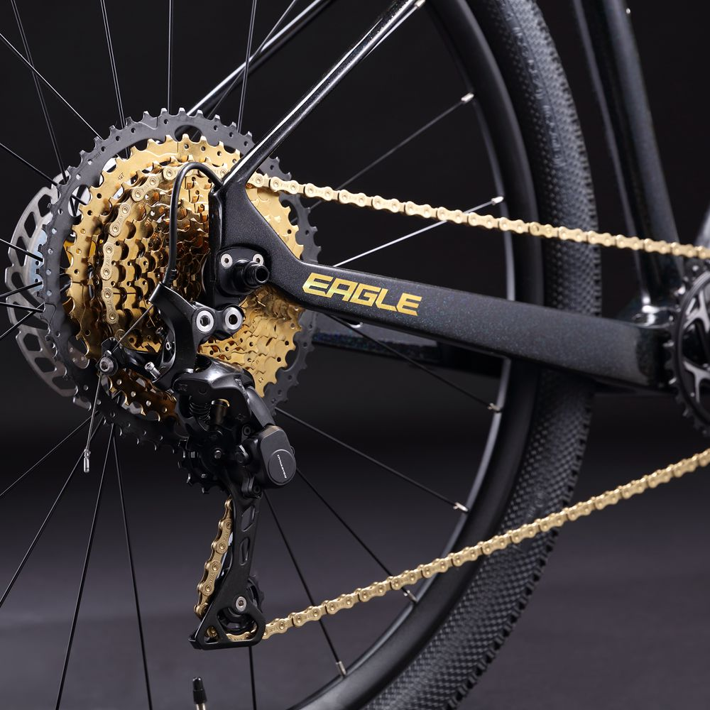 YBN Ti-Nitride Black 11-speed Chain 116 Links 5.5mm Wide with One Reusable