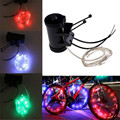 High Quality High brightness Bike Bicycle Wheel Tire Spoke Steel Wire Rim 20 LED Cycling Flash Light
