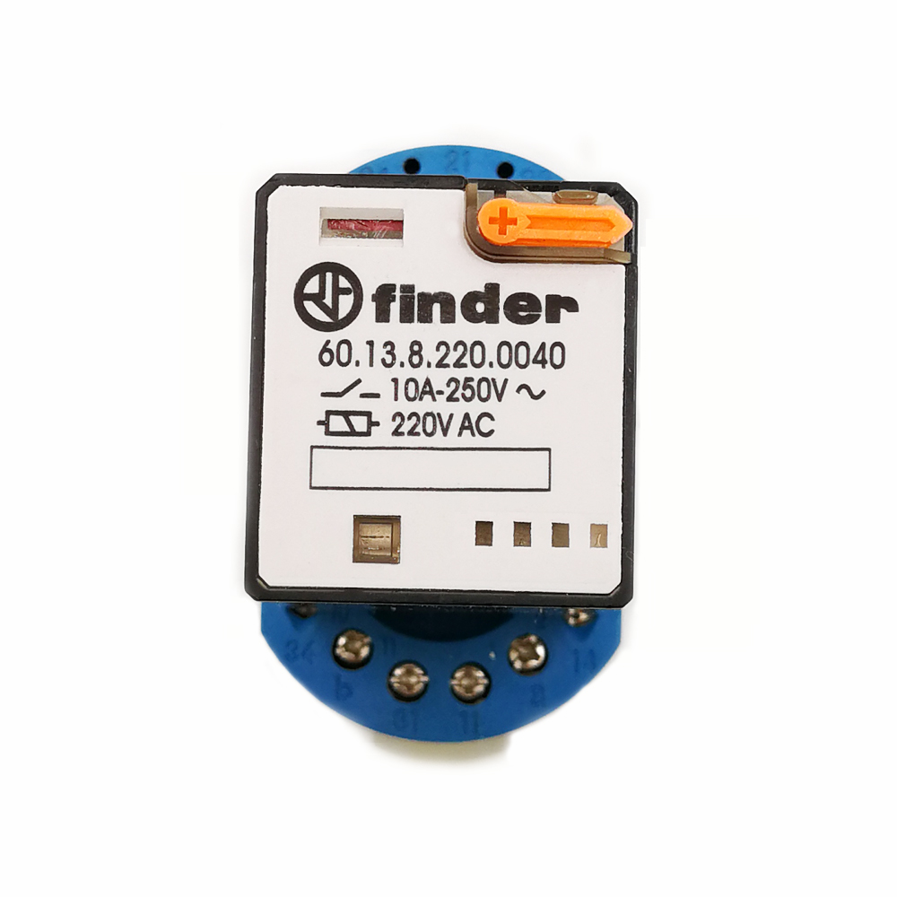 6013 Finder Relay With Base 220vac Mini Electromagnetic Terminal General Purpose In Relays From Home Improvement On