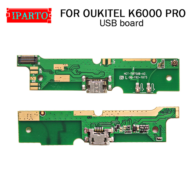 OUKITEL K6000 PRO usb board 100% Original New for usb plug charge board Replacement Accessories for OUKITEL K6000 PRO Cell Phone