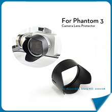 1pcs Phantom 3 Camera Lens Protector Petal Sun Hood Sunshade For DJI Phantom 3
