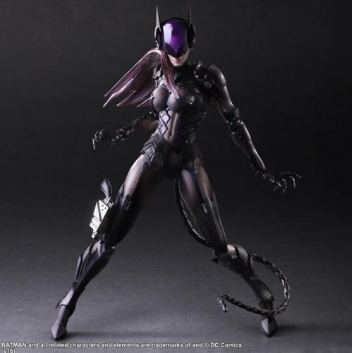 Square Enix DC Comics VARIANT Play Arts Kai Designed by Tetsuya Nomura Catwoman Toy Collectibles Model Doll 209