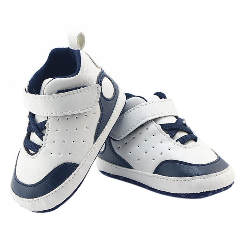 Baby Buckle First Walkers Baby Shoes Soft Bottom Fashion  Babies Non-slip PU Leather Prewalkers Boots Baby Boy Shoes