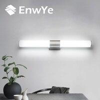 EnwYe Wall Lamps Bathroom Led Mirror Light Waterproof 12W 16W 22W AC85 265V LED Tube Modern