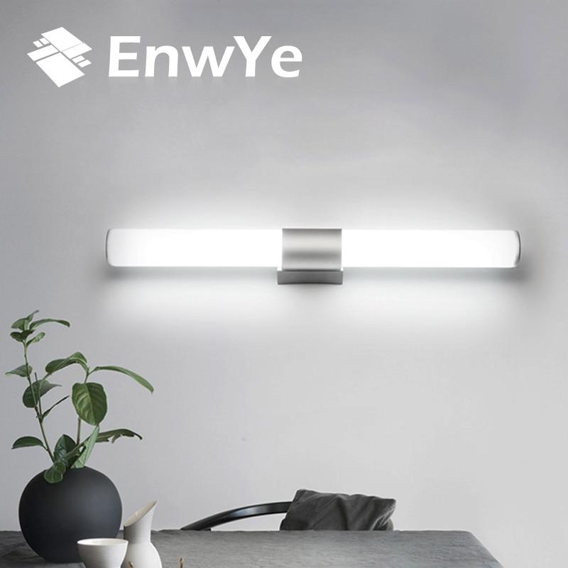 EnwYe Wand lampen badezimmer led spiegel licht Wasserdicht 12 watt 16 watt 22 watt AC85-265V FÜHRTE schlauch Moderne Wand lampe bad Beleuchtung BD71