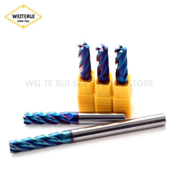 1 pc 길게 엔드 밀 100l 절단 hrc65 10mm 12mm 엔드 밀 금속 가공 밀링 텅스텐 스틸 밀링 커터
