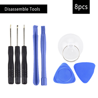 8 in 1 Disassemble Tools Mobile Phone Repair Tools Kit Smart Mobile Phone Screwdriver Opening Pry Set Hand Tools For iPhone Hand Tool Sets
