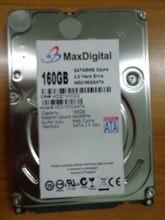แบรนด์ใหม่2.5 inchฮาร์ดดิสก์160กิกะไบต์5400รอบต่อนาที8เมตรBuff SATAภายในฮาร์ดดิสก์ไดรฟ์สำหรับแล็ปท็อปโน๊ตบุ๊คMaxDigital/MD160GB SATA 2.5นิ้ว