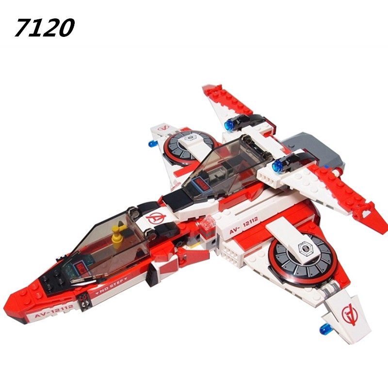 AIBOULLY 7120 07022 Avenger Super Hero Space Mission Jet Engine Education Bricks Building Block Compatible With 76049 lucky john croco spoon big game mission 24гр 004