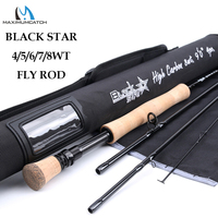 Maximumcatch 4 8WT Fast Action Fly Fishing Rod 30T+40T SK Carbon 9FT 4sec Fly Rod with Cordura Tube|Fishing Rods| |  -