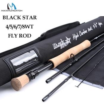 Maximumcatch Black Star – Nopea toiminen perhovapa