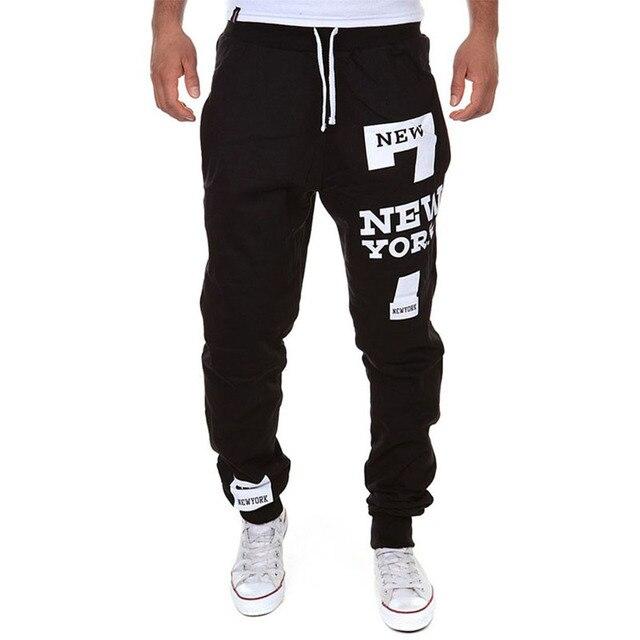 M-SXL Men's Jogger Dance Sportwear Baggy Casual Pants Trousers Sweatpants Dulcet Cool Black/White/Deep gray/Light gray 2