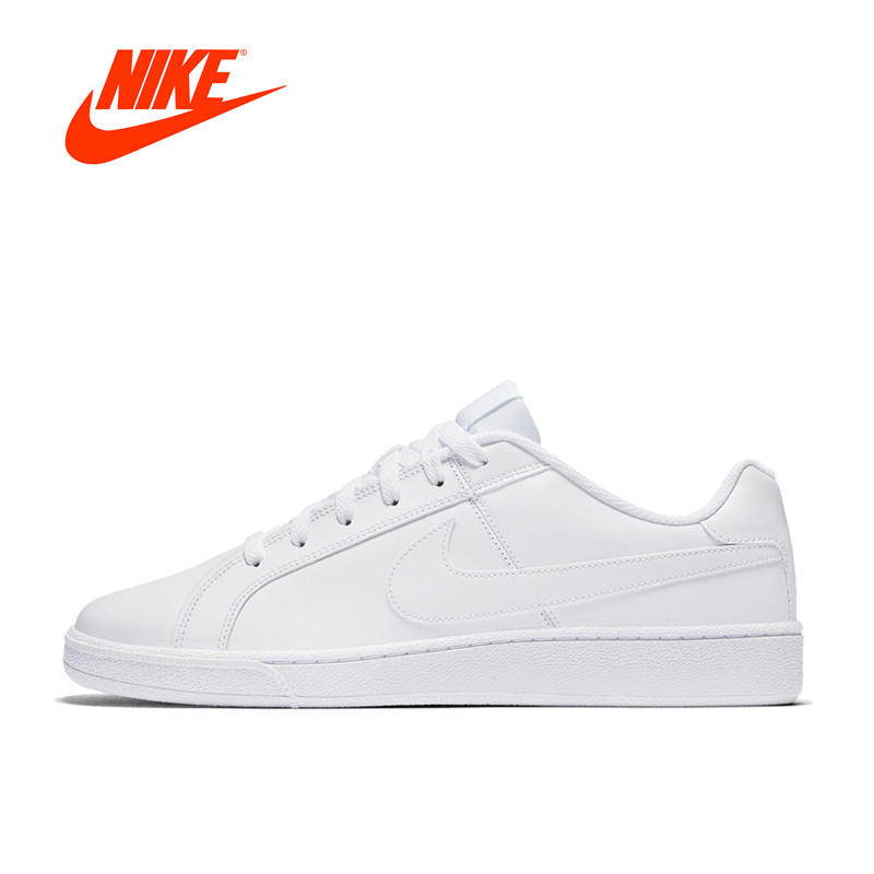 New Arrival Official Nike Court Royale Hard-Wearing Men's Skateboarding Shoes Sports Sneakers Classique Comfortable original new arrival official nike sb portmore women s breathable skateboarding shoes sports sneakers classique comfortable