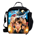Hot Christmas Gifts For Kids Lunch Bag For School Harry Potter Lunch Bag Thermal Cooler For Children Insulated Picnic Bag