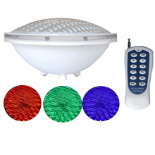 12V Marine Boat RGB LED Underwater Light with Remote Control High Power 25W Swimming Pool Pond Waterproof Lamp