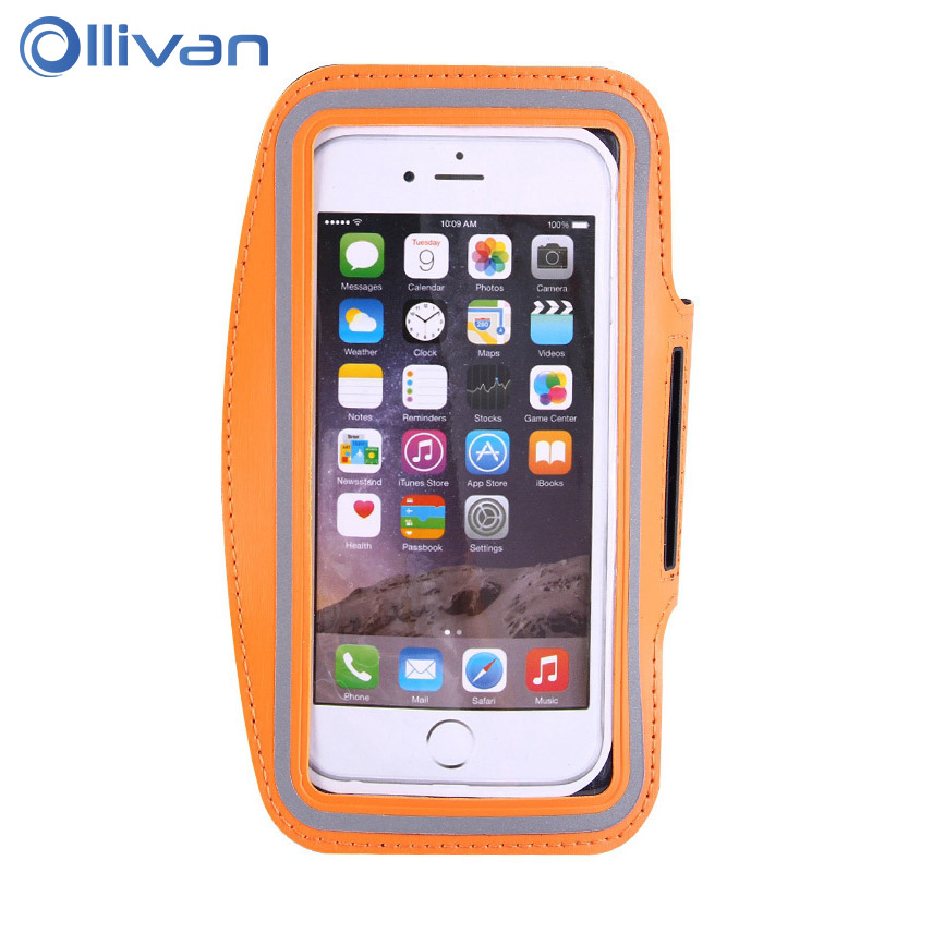 Ollivan Universal Outdoor Sport <font><b>Phone</b></font> Bag <font><b>Case</b></font> for iPhone X 7 6 6s 5 5s se Running Bag Arm Wrist Band <font><b>Holder</b></font> Pouch for Women Man