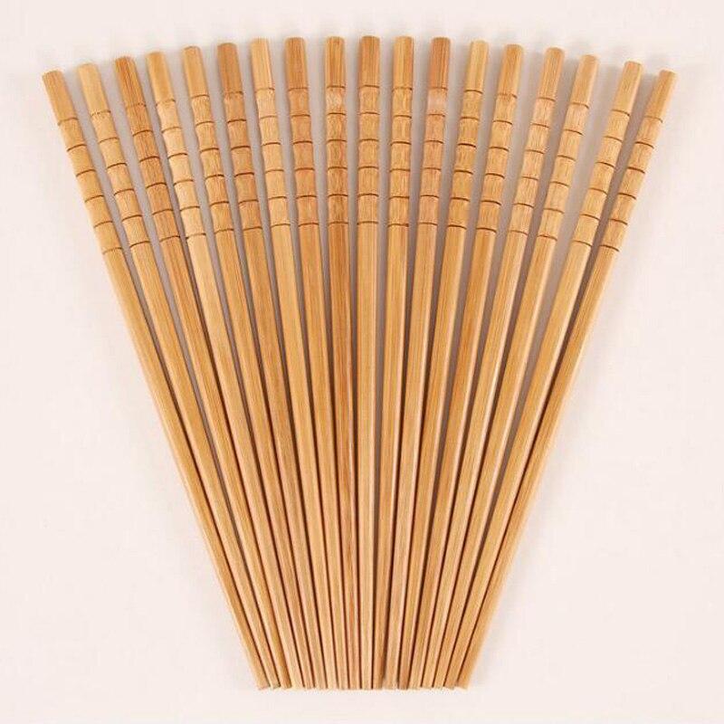 300 زوج/وحدة اليابانية الطبيعي خشبية الخيزران عيدان صحة دون ورنيش الشمع أواني حاشي السوشي الصينية-في عيدان الأكل من المنزل والحديقة على  مجموعة 1