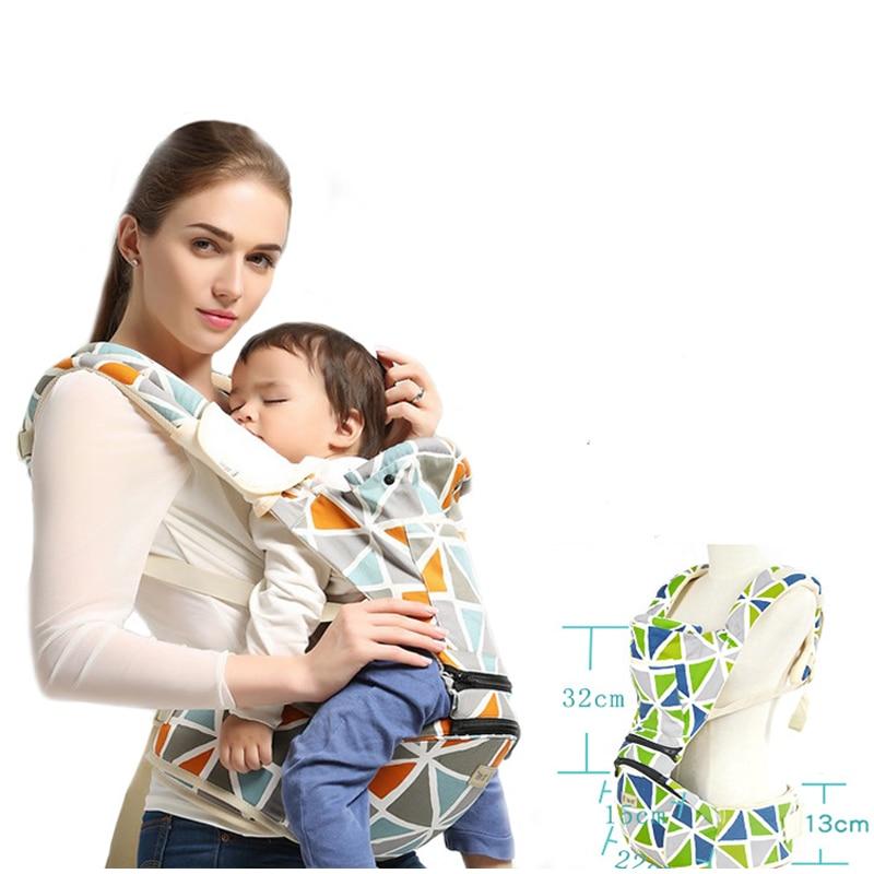Baby Carrier Ergonomiczny Przewoźnik Pozycje Pas biodrowy Sling Belt - Aktywność i sprzęt dla dzieci - Zdjęcie 3