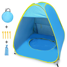 MrY 2019 Portable Baby Games Beach Tent Outdoor Swimming Pool Sun Shelter Game House цена 2017