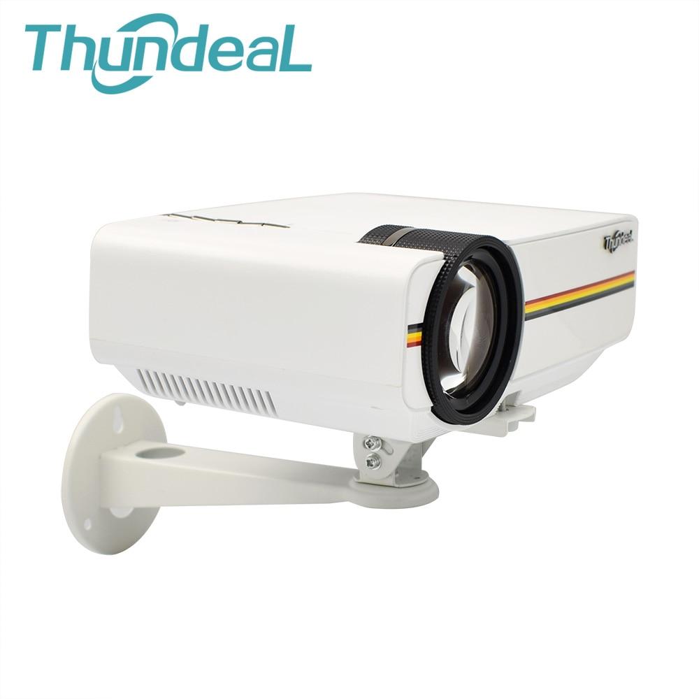 Tüketici Elektroniği'ten Projektör Braketleri'de 360 Açı Mini Projektör Braketi Tutucu led projektör YG400 YG420 YG500 C80 RD825 Standı Tutucu Dağı Duvar Asılı Montaj Braketi title=