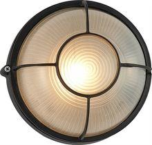 Круглая винтажная светодиодная уличная настенная лампа освещение