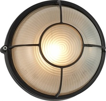 Round Vintage LED Outdoor Wall Lamp Fixtures For Courtyard Balcony Aisle Porch Lights Eclairage Exterieur Buitenverlichting