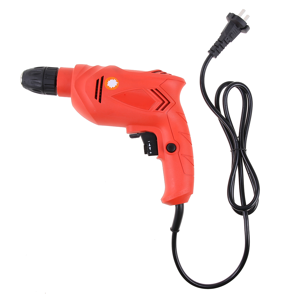 Multi-function 200V DC Electric  Drill Tool Hand Precision Drill bit Household High-power Torque drill Power Tools wireless electric drill with battery household hand electric multi function impact drill rotary hammer drill electric planer
