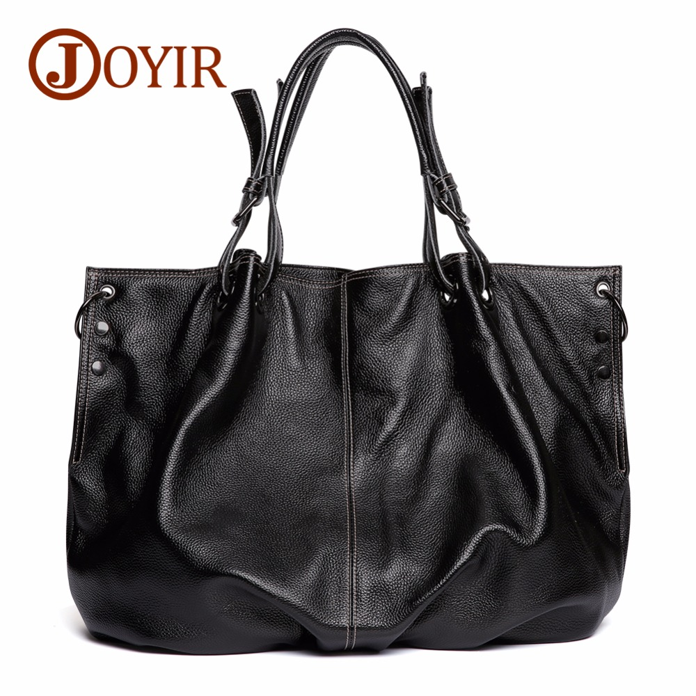 JOYIR Genuine Leather Handbag Women's Shoulder Messenger Bag Leather Female Large Capacity Bags For Women 2018 Bolsa Feminina 76 genuine leather handbag 2018 new shengdilu brand intellectual beauty women shoulder messenger bag bolsa feminina free shipping