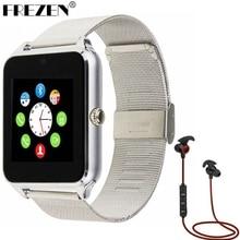GT08 FREZEN Reloj Inteligente Reloj Con Ranura Para Tarjeta Sim Push mensaje de Conectividad Bluetooth Teléfono Android U8 Smartwatch DZ09 PK GT08 V8