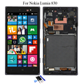 5.0'' For Nokia Microsoft Lumia 830 LCD Display Touch Screen with Digitizer + Frame Full Assembly with Tools , Free Shipping