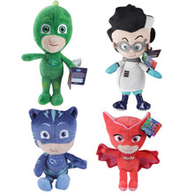 20cm Anime Cartoon Mask Man Plush Toys Mconnor Brinquedos Greg Juguetesl Amaya Doll 4 Style Les Pyjamasques Toys