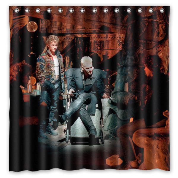 bathroom products the lost boys printed polyester fabric shower curtains waterproof washable curtain