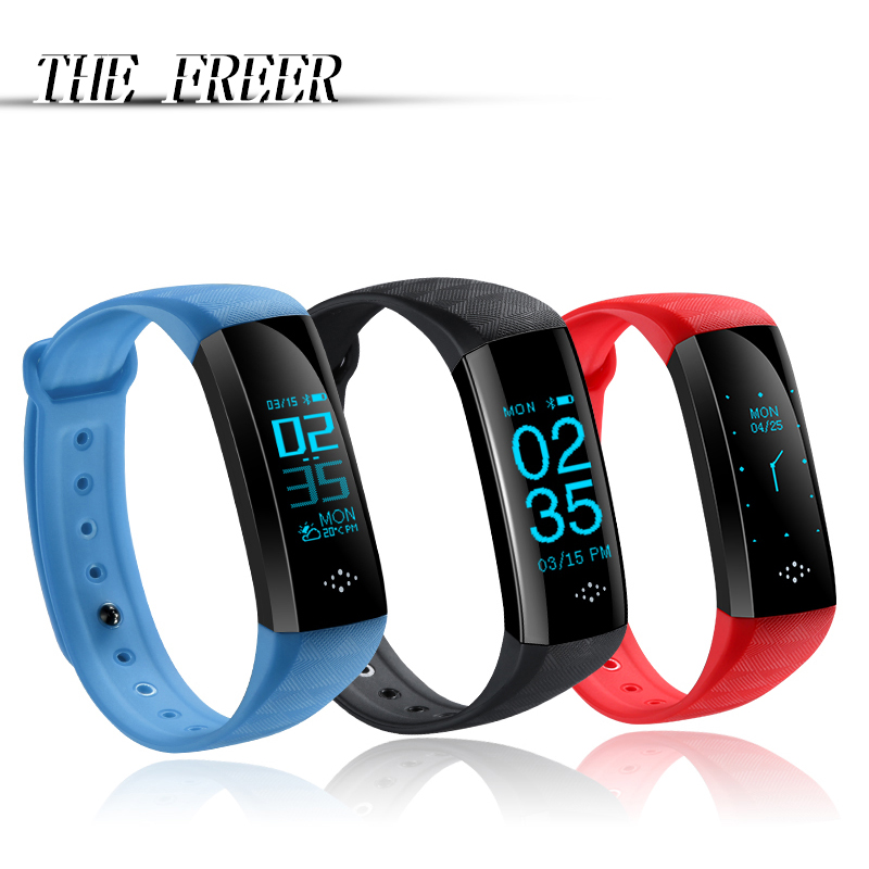Men Women Smart Sport Bracelet Watch Digital Waterproof Blood Pressure Heart Rate Sleep monitor Smartwatch For Android IOS home care laser light therapy instrument wrist watch type reduce high blood pressure