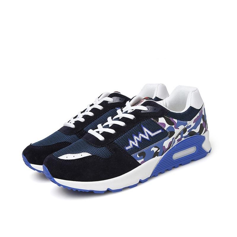Zapatos de la manera de Los Hombres Ocasionales Respirables Pisos Zapatos Mujer