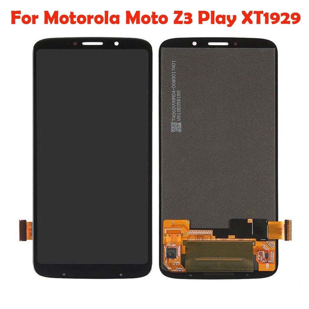 Sinbeda 6.0 ''LCD Pour Motorola Moto Z3 Jouer LCD Affichage à L'écran Tactile Digitizer Assemblée Pour Motorola Moto Z3 Jouer LCD Écran