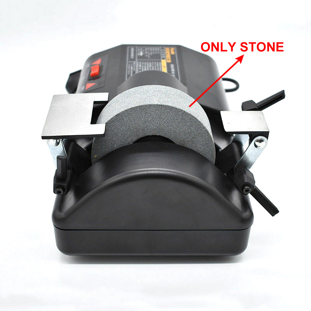 120W 220V Electric Sharpener Stone Knife Grinder Grinding Wheel For 5 Inch Water Cooled Low Speed Sharpener Two Sharpening Holde