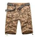 Verão Shorts Da Carga Camo Mens Shorts Cáqui Militar Ocasional Shorts Curtos ZMF789563