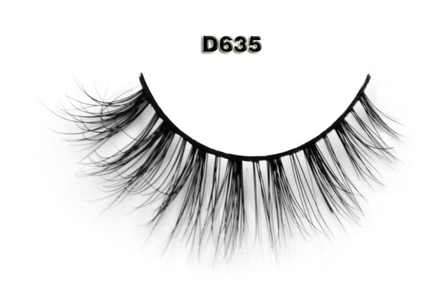 Free shipping 1pcs/lot double layered lashes 3d mink lashes siberian strip lash extension