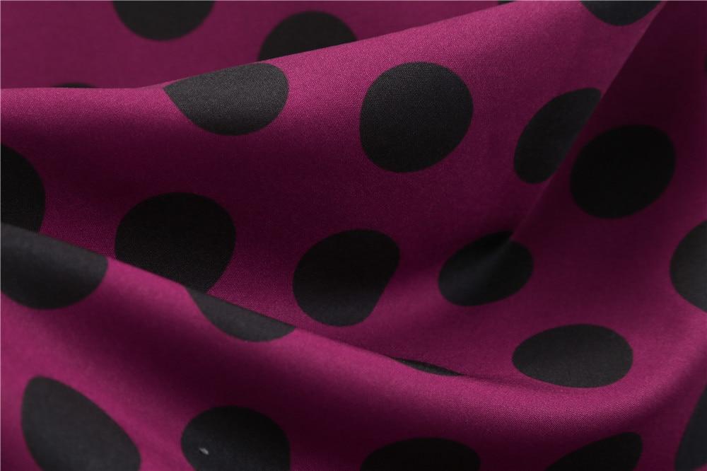 HTB19LfJboLrK1Rjy0Fjq6zYXFXa1 Women Summer Dresses 2019 Robe Vintage 1950s 60s Pin Up Big Swing Party Work Wear Rockabilly Dress Black Polka Dot Vestidos