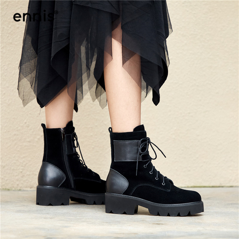 9a95fb5cd8cf Detail Feedback Questions about ENNIS 2018 Winter Martin Boots ...