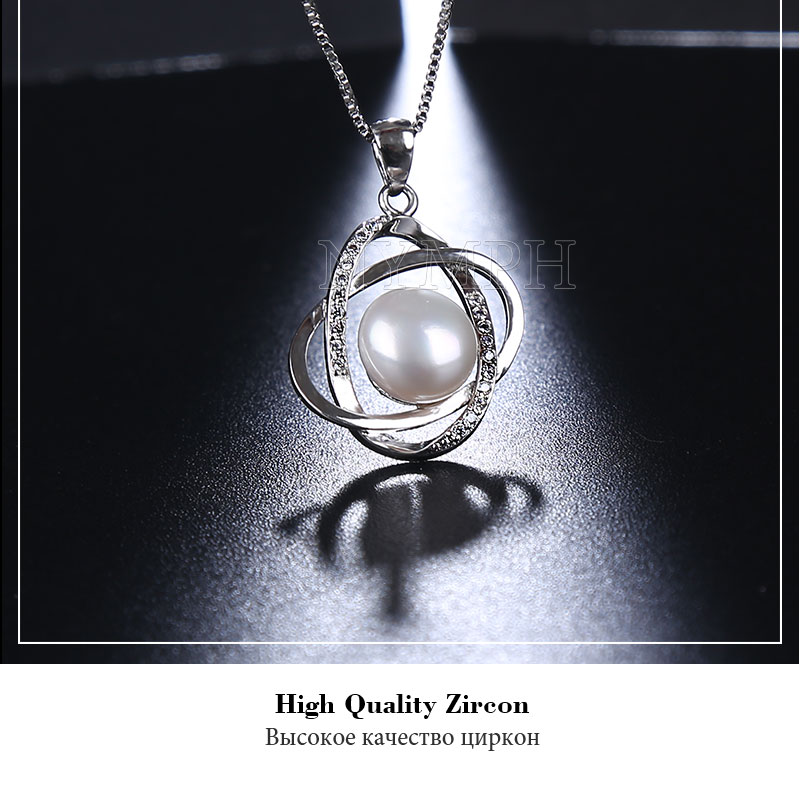 HTB19Lfaj4rI8KJjy0Fpq6z5hVXaa NYMPH Pearl Jewelry Sets Natural FreshWater Pearl Necklace Pendant Earrings Fine Trendy Wedding Party Gift Women RoseT202-H