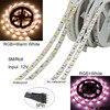 5M 10M 15M 5050 Led Strip DC 12 V RGB RGBW RGBWW LED Lights Strip Flexible Tape Led Ribbon For Home Christmas Party promo
