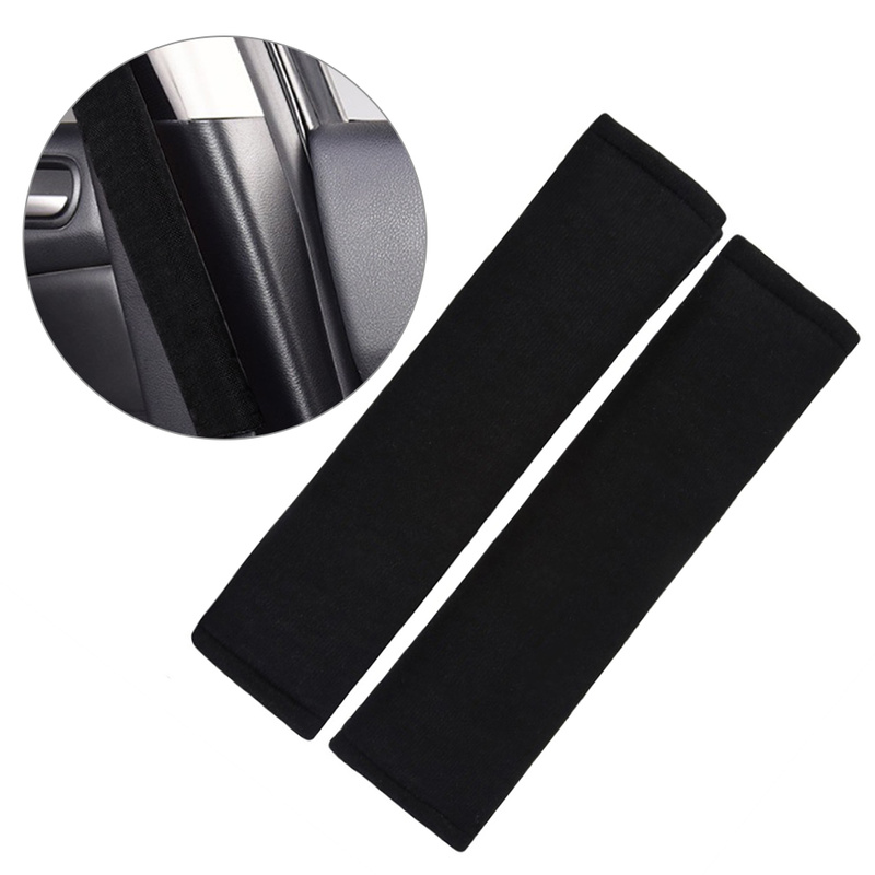Car Safety Seat Belt Shoulder Pads Cover Cushion Harness Comfortable Pad New