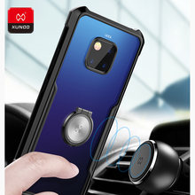 Luxury Slim 360 Full Shockproof Case For New Huawei Mate 20 Pro X Phone with airbags Protection Cover Cases Magnetic car holder(China)